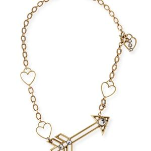 LANVIN Arrow and Heart Necklace FABULOUS!